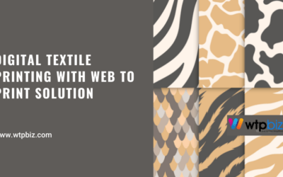Digital Textile Printing with web to print solution