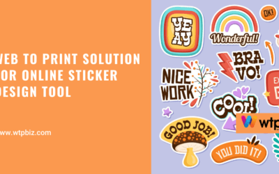 Web to print solution for online sticker designer tool- WTPBiz